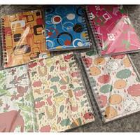 """Блокнот - ежедневник для записи """"Русалка"""" А6, разные цвета, 60 листов, на боковой спирали, Ежедневник, Записные книжки"""