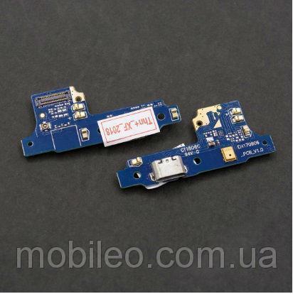 Плата зарядки для Huawei Y5 II   Honor 5   Honor Play 5 (версия 3G) (V1.0) с разъемом зарядки и