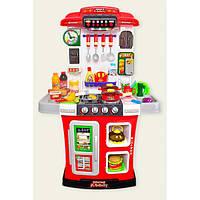 Кухня интерактивная с водой WD-R28 звук, свет, течет вода, посуда, продукты