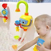 Детская Игрушка для Игры в Ванной Water Spraing Robot Fountain