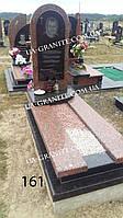 Памятник на кладбище из гранита капуста для парня