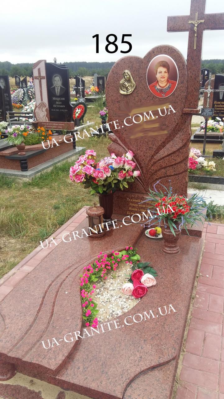 Памятник для коханої комплекс із граніту лізник кераміка