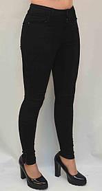 Джинсы для девочек в черном цвете Pepco на рост 164 см. - брак