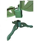 Елка искусственная ПВХ 220 см с белыми кончиками веточки, фото 4