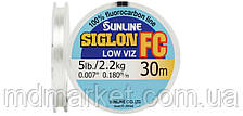 Флюорокарбон Sunline SIG-FC 30м 0.100мм 0.7кг