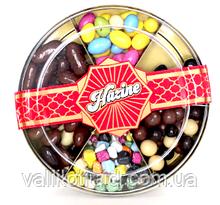 Шоколадное драже орех, кофе,апельсин,изюм , нут  Hazine, 230 гр.