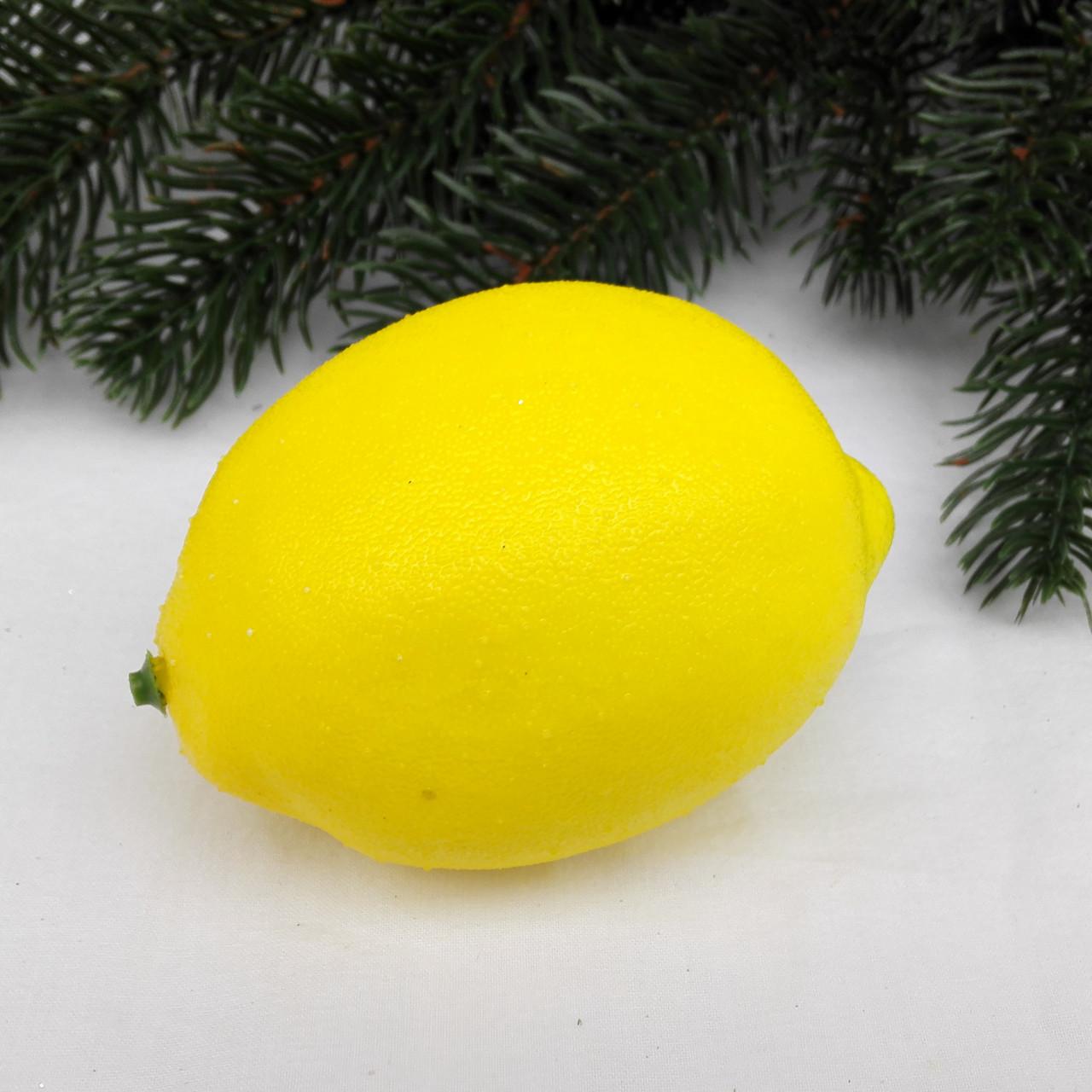 Лимон искусственный 1:1