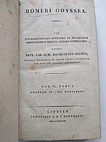 1823 Гомер Одиссея Homeri Odyssea Греческий язык, фото 1