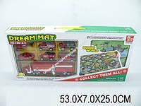 Набор пожарных машин с игровым ковриком, в коробке SQ80667-4