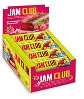 Батончик Jam Club мюсливо-желейный 40 гр 24 шт/ уп. 144шт/ящ