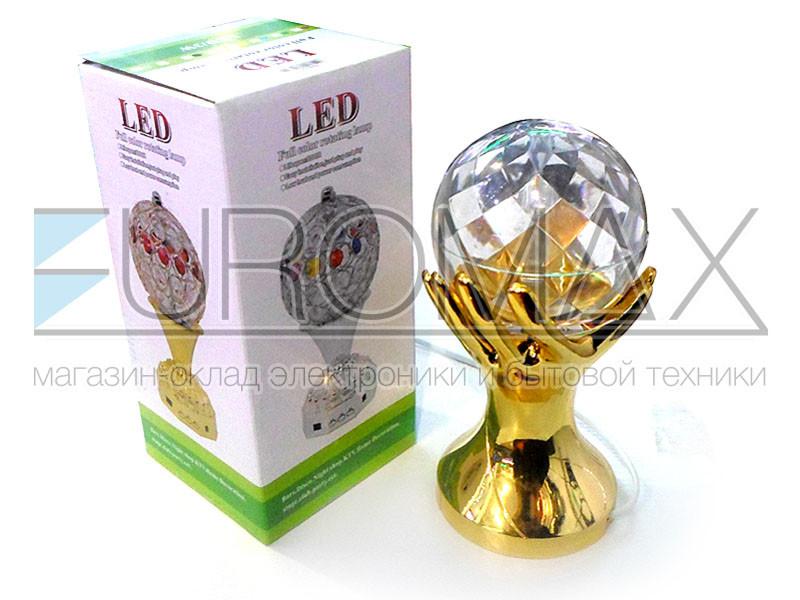 Светодиодная вращающаяся лампа (без обменов, без возвратов) 50шт RHD-17