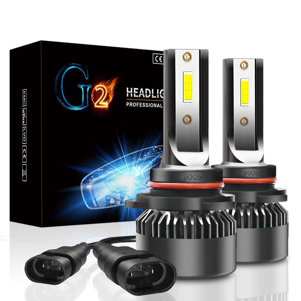 Лампа светодиодная для фар G2 MINI LED  HB3 6000 Lum, цвет свечения 6000К, 2 шт компл.