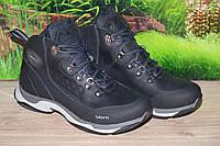 Ботинки зима кожа натуральная М24 качество ecco размеры 40 41 42 43 44 45