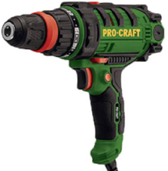 Шуруповерт мережевий Procraft РВ-1150 DFR (знімний патрон)