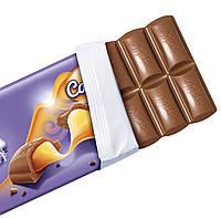 Milka Caramel Молочный шоколад с жидкой карамелью, фото 2