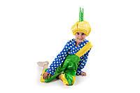 Детский карнавальный костюм для мальчика «Чиполлино» 110-125 см, желтый