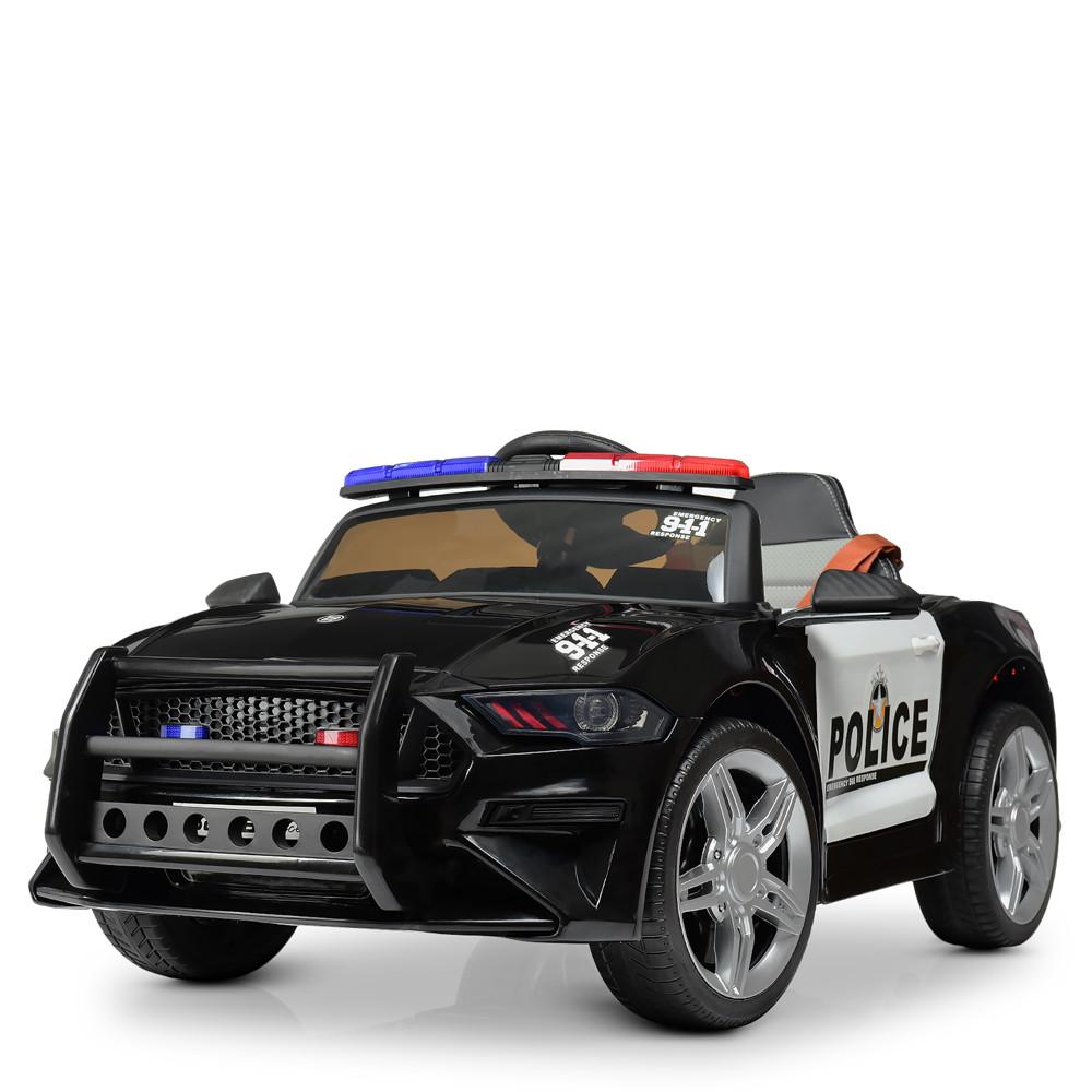 Электромобиль Машина M 3632EBLR-2-1 черный BAMBI