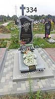 Пам'ятник на могилу із хрестом фото каталог