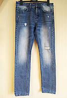 Джинсы мужские классические синие плотные Denim Co (Размер 46-48 (M, W34/L34))