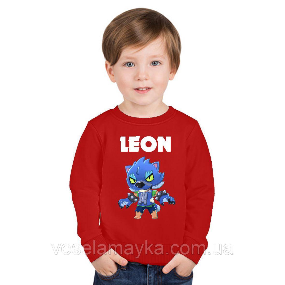 Детский свитшот BS Leon Werewolf 2 (Леон Оборотень)
