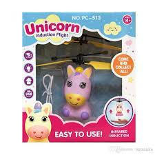 Индукционная летающая игрушка Единорог