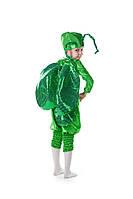 Детский карнавальный костюм для мальчика Жук «Светлячок» 100-110 см, зеленый