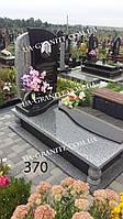 Пам'ятники красиві із сірого та хрест фото
