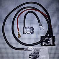 Провода АКБ с клеммами свинец ВАЗ 2121 Нива