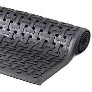 Килимок гумовий 90 х 150 х 1,2 см чорний