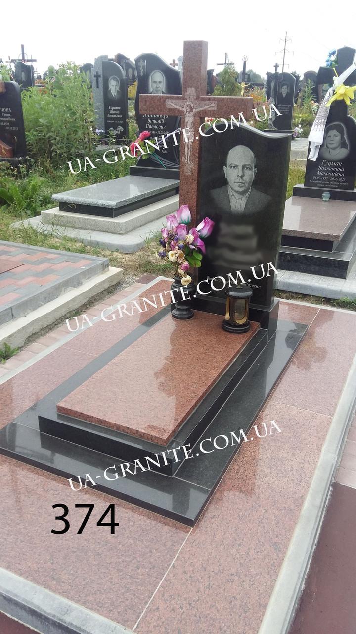 Памятники для покойного из красного гранита на могилу