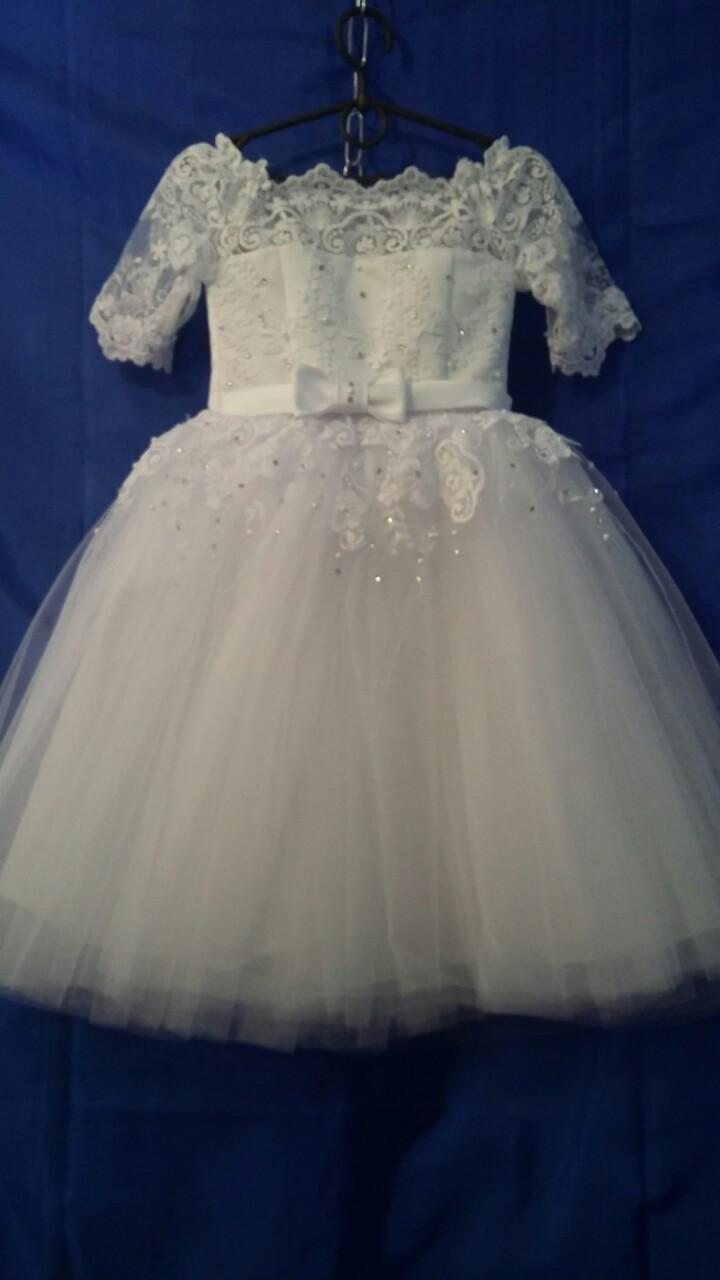 Детское платье для девочки нарядное р. 4-5 лет опт