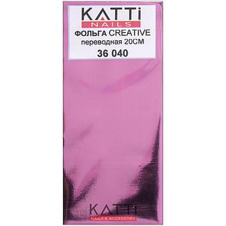KATTi фольга переводная 36040 металлик дымная слива 20см, фото 2