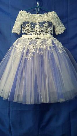 Детское платье для девочки нарядное р. 4-5 лет опт, фото 2