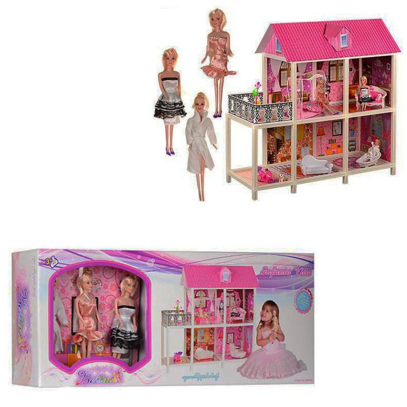 Кукольный домик для кукол Барби Bettina 66884