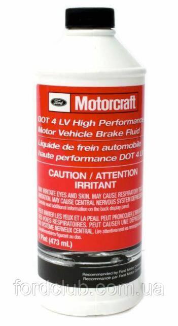 Тормозная жидкость Motorcraft PM20 (для всех комплектаций)
