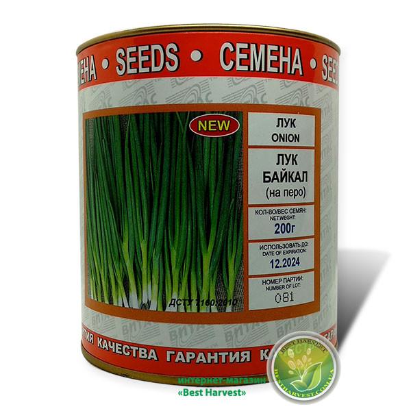 Семена лука «Байкал» (на перо) 200 г, инкрустированные (Vitas)