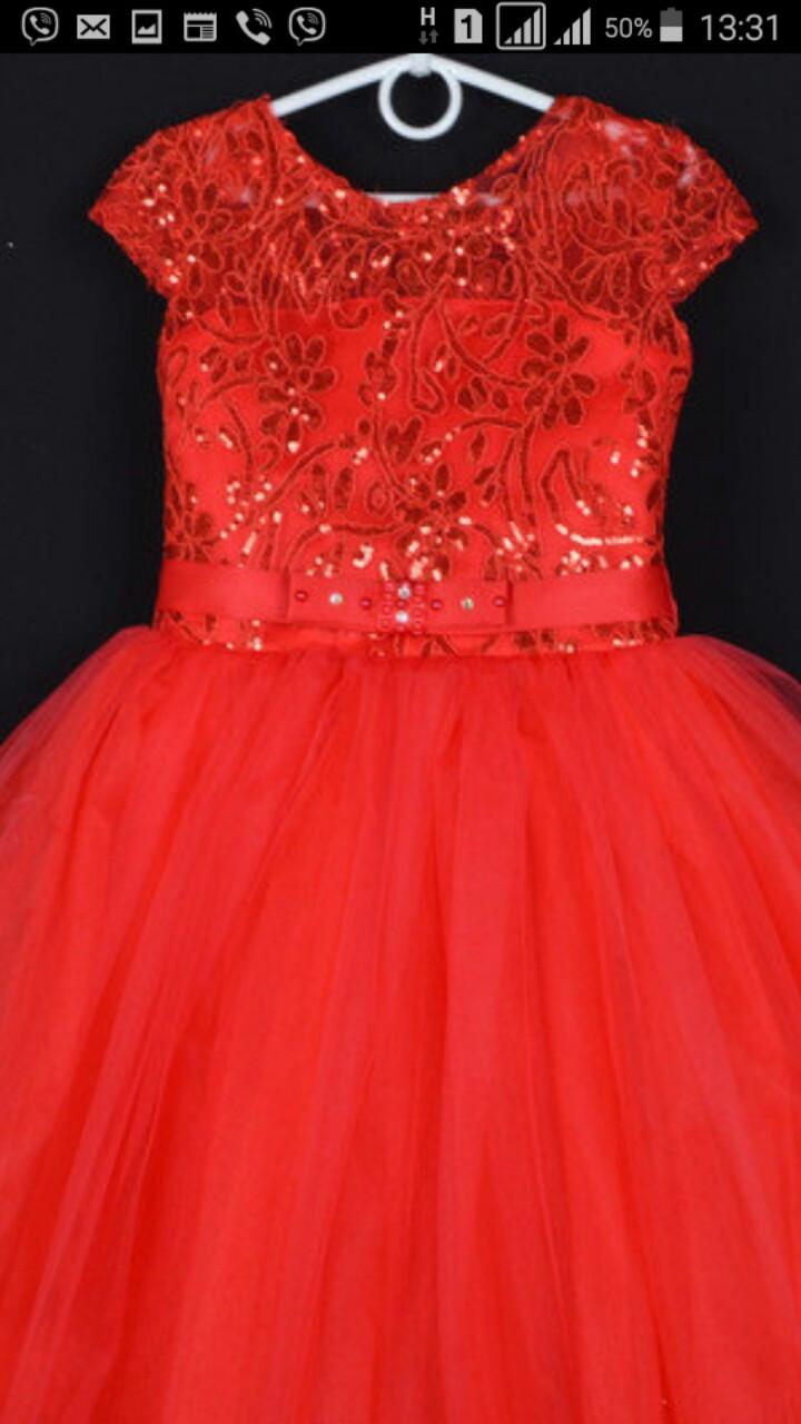 Дитяче плаття для дівчинки ошатне р. 5-6 років опт євро сітка