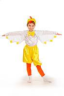 Детский карнавальный костюм для мальчика «Цыпленок» 100-110 см, желтый