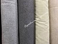 Мебельная ткань рогожка темно серый