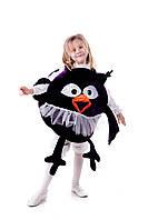 Детский карнавальный костюм для девочки Совунья «Смешарики» 110-125 см, черный