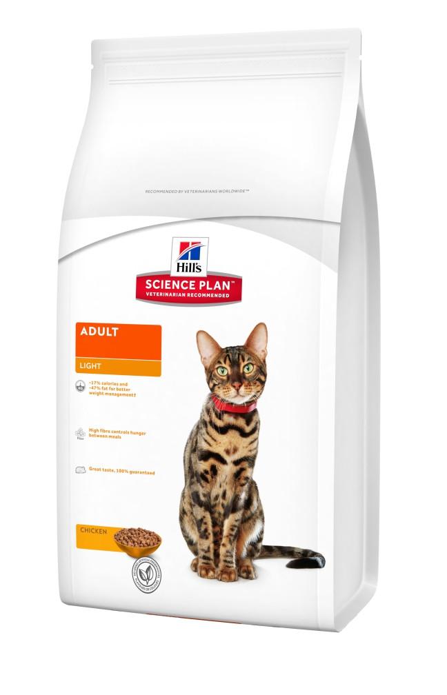 Сухой корм Hills Science Plan Feline Adult Light Курица 0.3 кг
