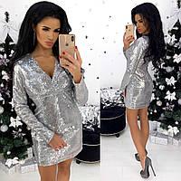 Платье женское вечернее красное, чёрное, серебро, золото, фото 1
