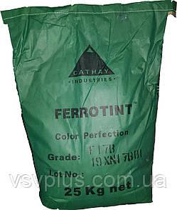 Пігмент окис хрому зелений FERROTINT F 17 B сухий Китаю 25 кг, фото 2