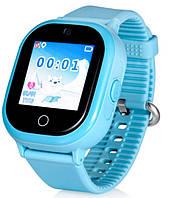 Детские смарт-часы Smart Watch WP06 GPS+камера Бирюзовый