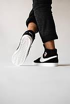 Мужские кроссовки в стиле Nike Blazer Black, фото 2