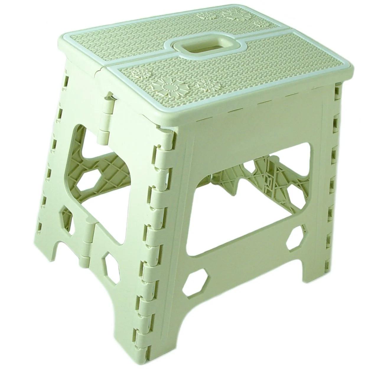 Табурет раскладной Stenson R87943 30х25х30 см, зеленый