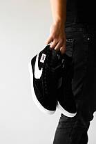 Мужские кроссовки в стиле Nike Blazer Black, фото 3