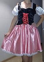 Карнавальный новогодний костюм женский баварский С-М