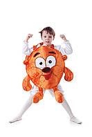 Детский карнавальный костюм для мальчика Копатыч «Смешарики» 110-125 см, коричневый