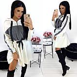 Платье женское чёрное, белое, бежевое, хаки, фото 4